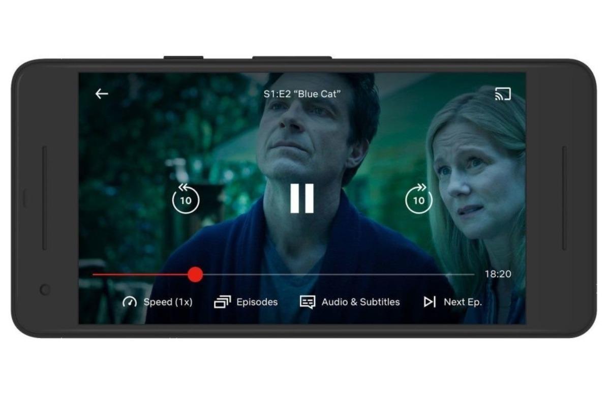 Afspeelsnelheid Netflix wijzigen