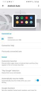 android auto update instellingescherm screenshots (4)
