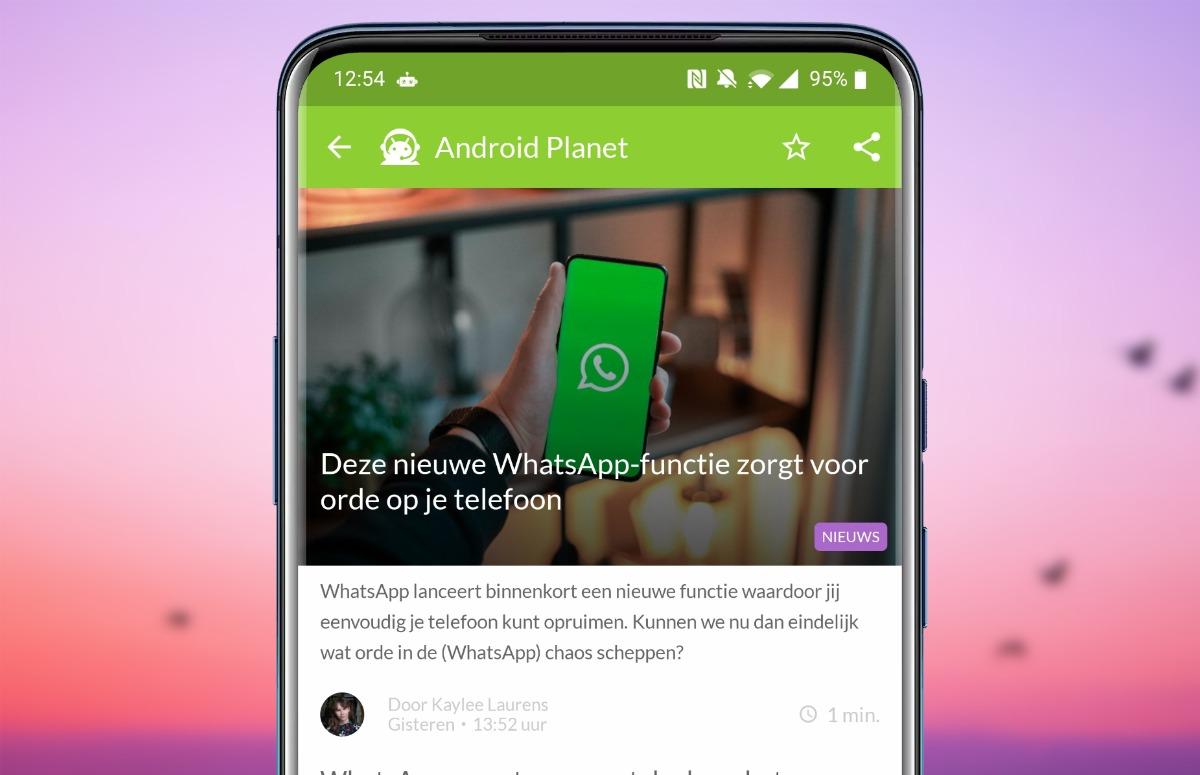 Android-nieuws #35: Opruimen met WhatsApp, nieuwe Fairphone en meer