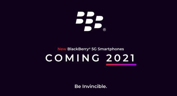 BlackBerry in 2021