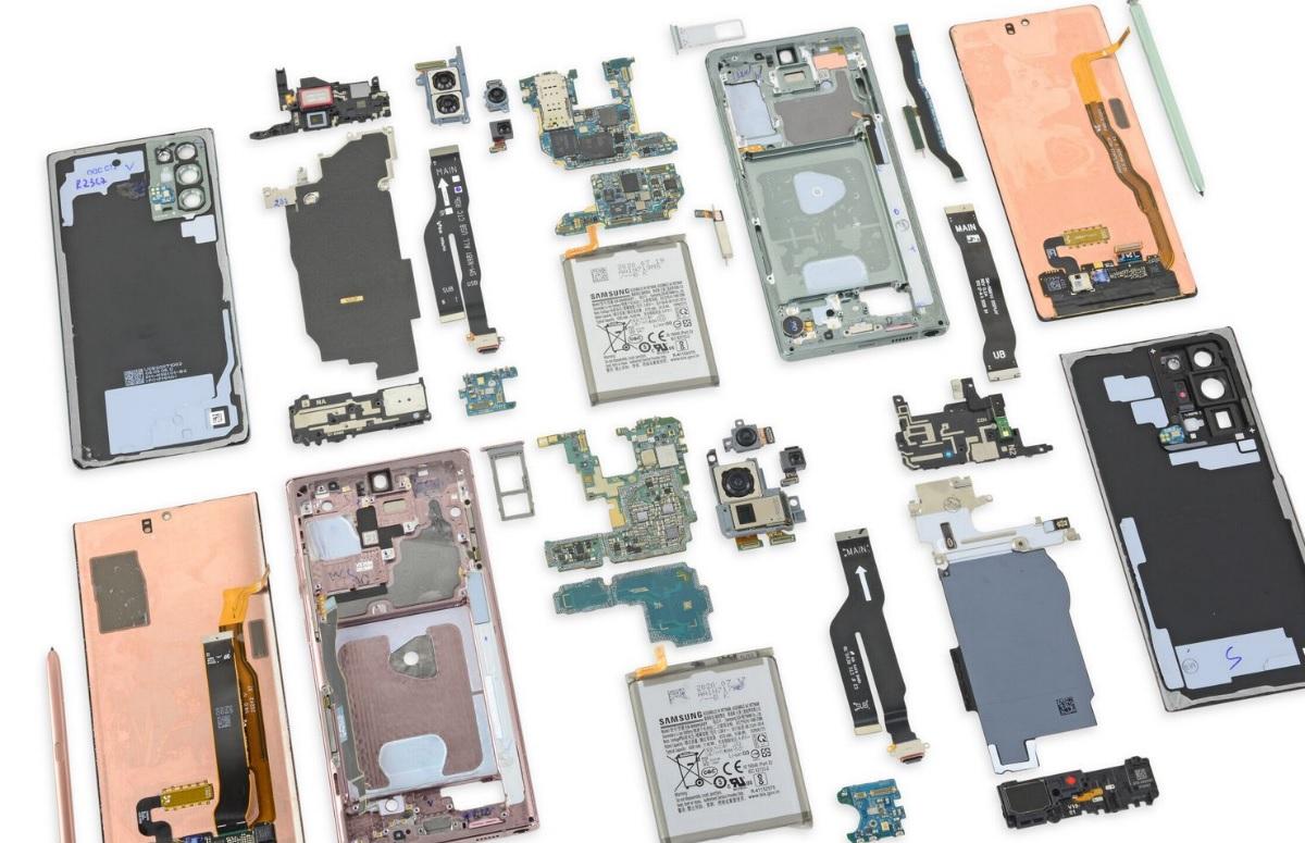 Teardown: Samsung Galaxy Note 20 en Note 20 Ultra hebben wisselende koelhardware