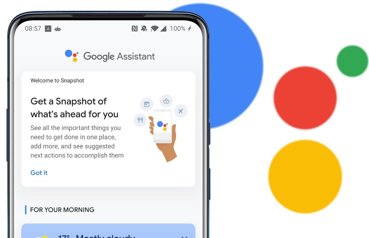 Google Assistent Snapshot gaat je agenda bijhouden, maar nog niet in Nederland