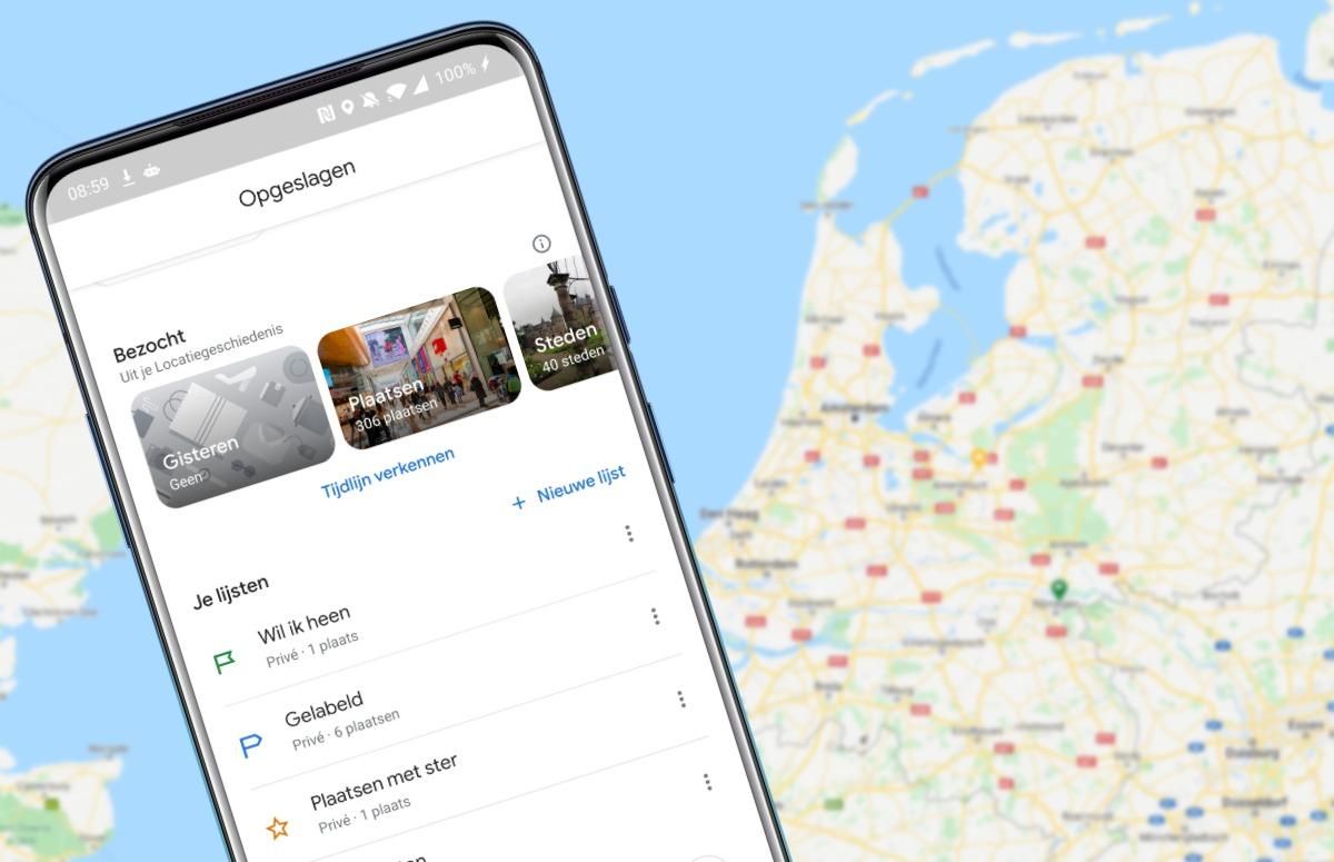Update voor Google Maps: 3 verbeteringen op een rij