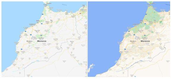 Google Maps-kaarten