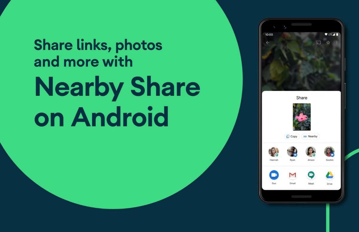 Google Nearby Share officieel: snel en draadloos bestanden delen tussen apparaten