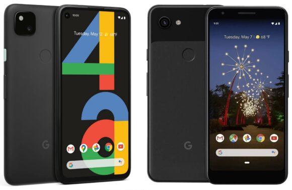 Google Pixel 4a vs Google Pixel 3a
