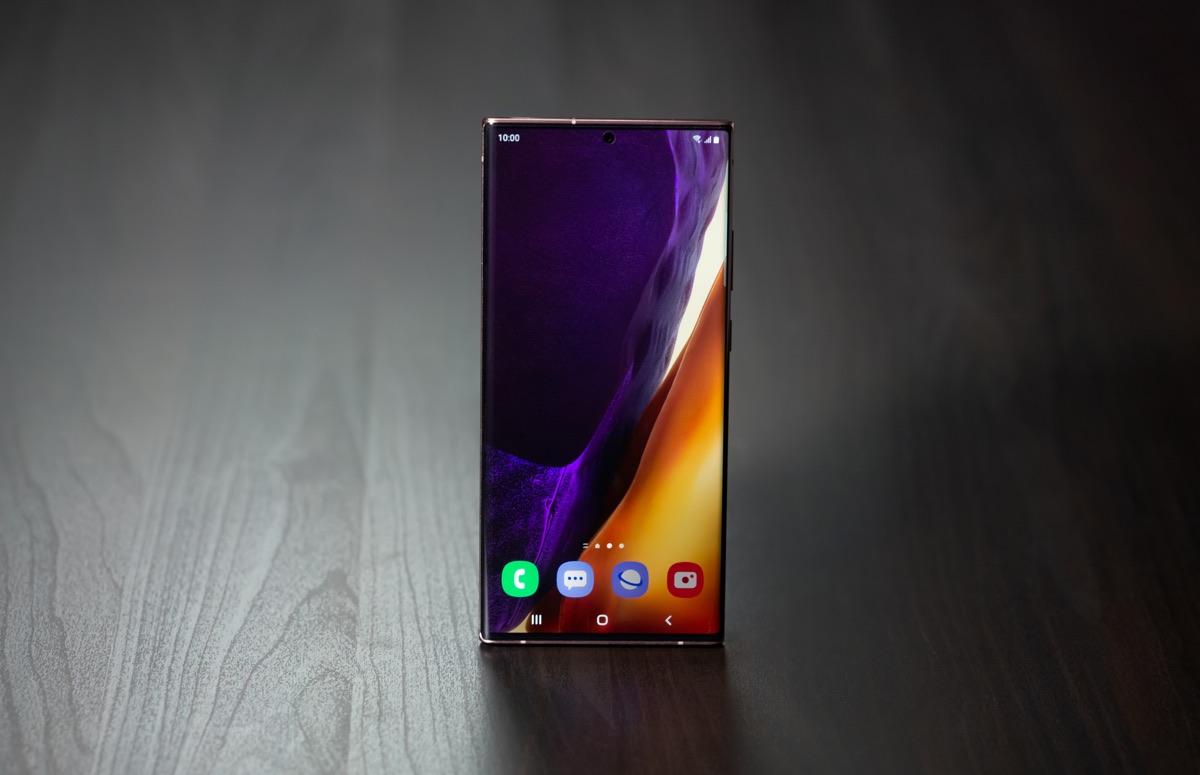 Samsung brengt eerste update voor Galaxy Note 20 Ultra uit