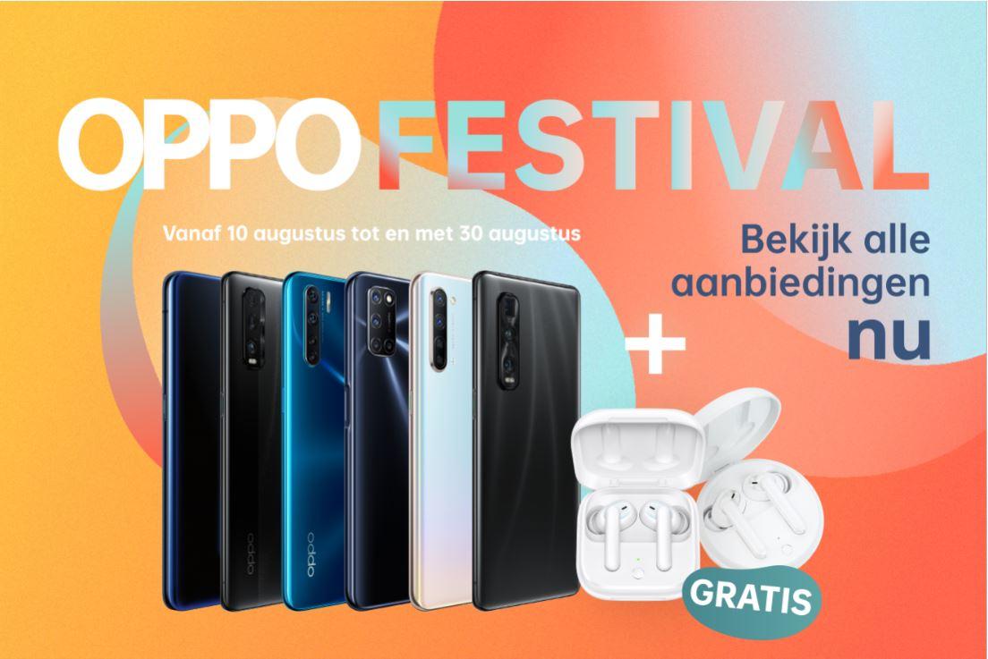 De beste smartphones koop je nu met korting tijdens het OPPO Festival! (ADV)