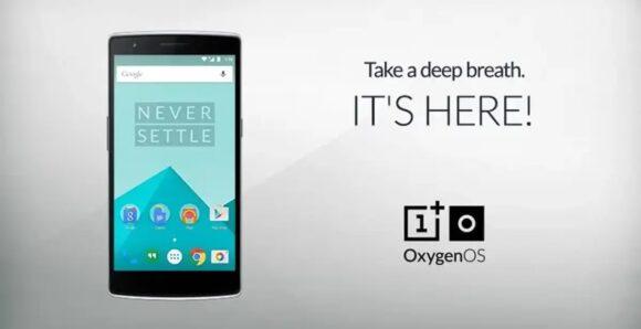 OxygenOS-introductie