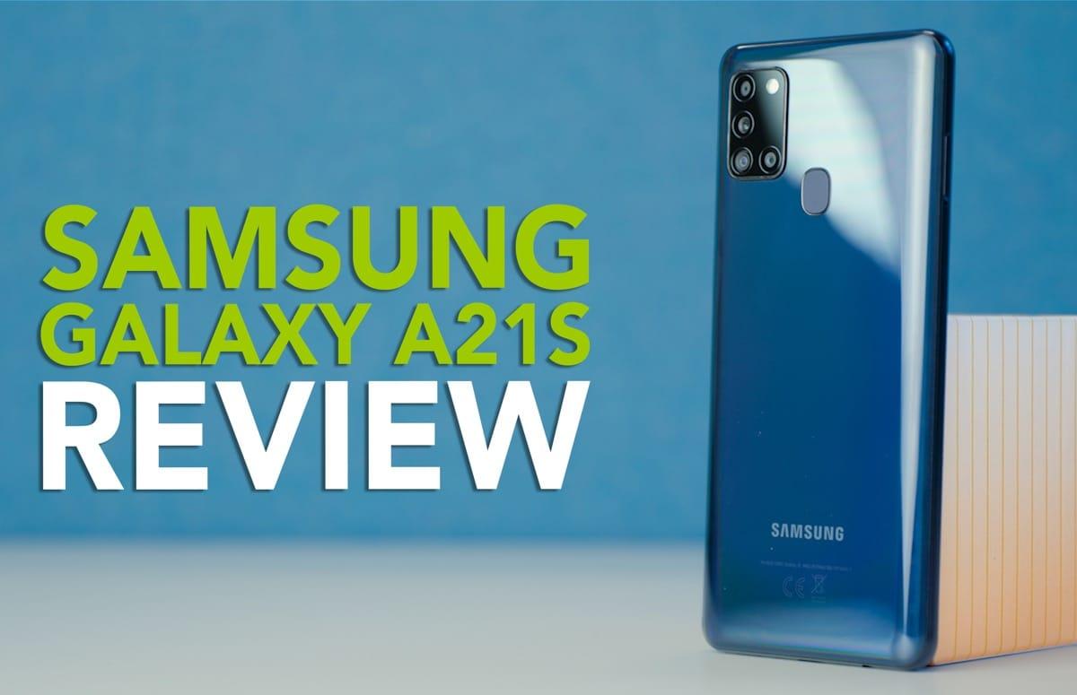 Terugkijken: onze Samsung Galaxy A21s videoreview