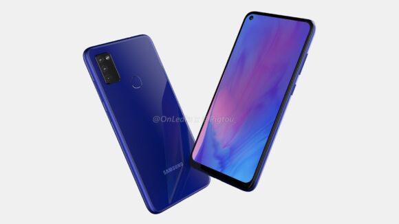 Samsung Galaxy M51-render