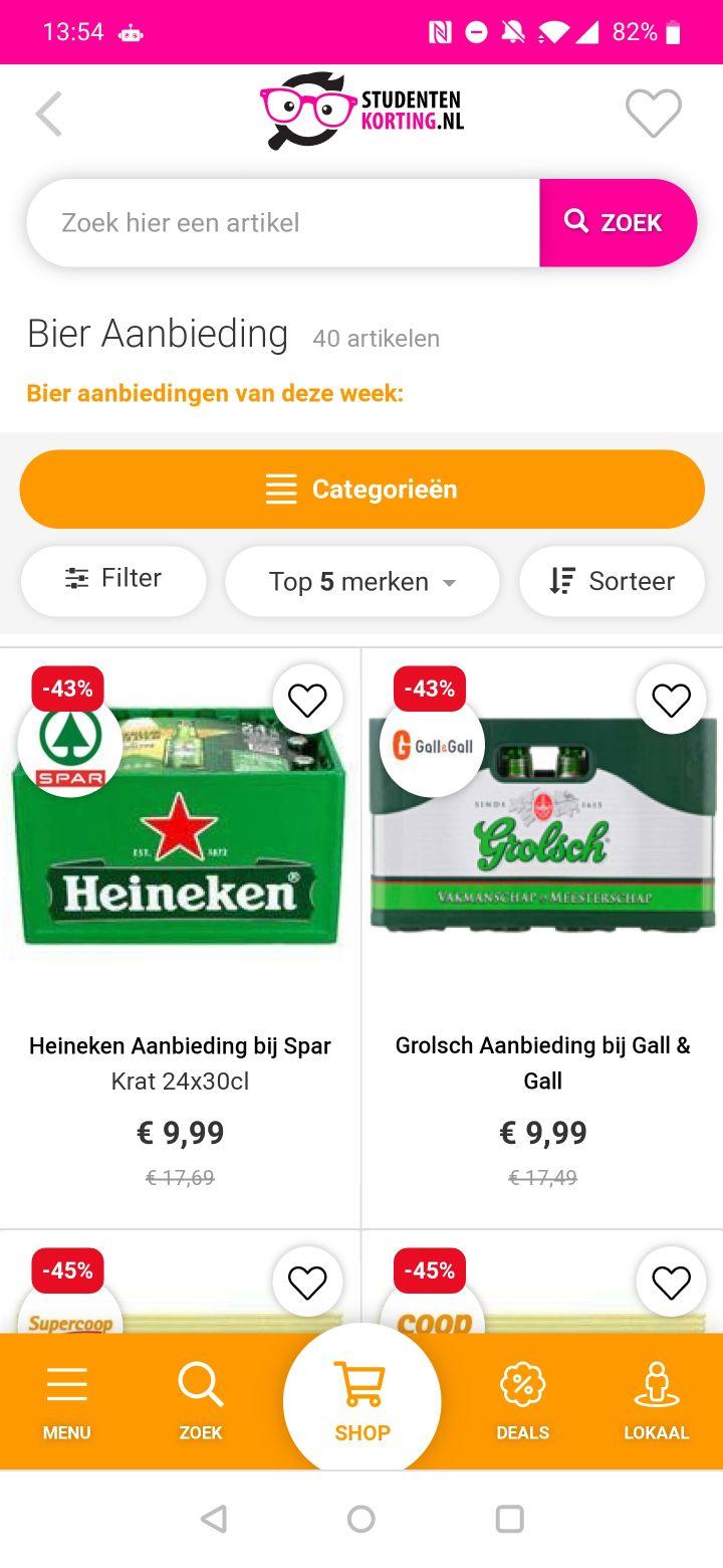 studentenkorting-apps screenshots (3)