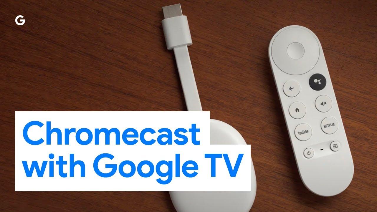 Dit is de nieuwe Chromecast: afstandsbediening, Google TV en meer