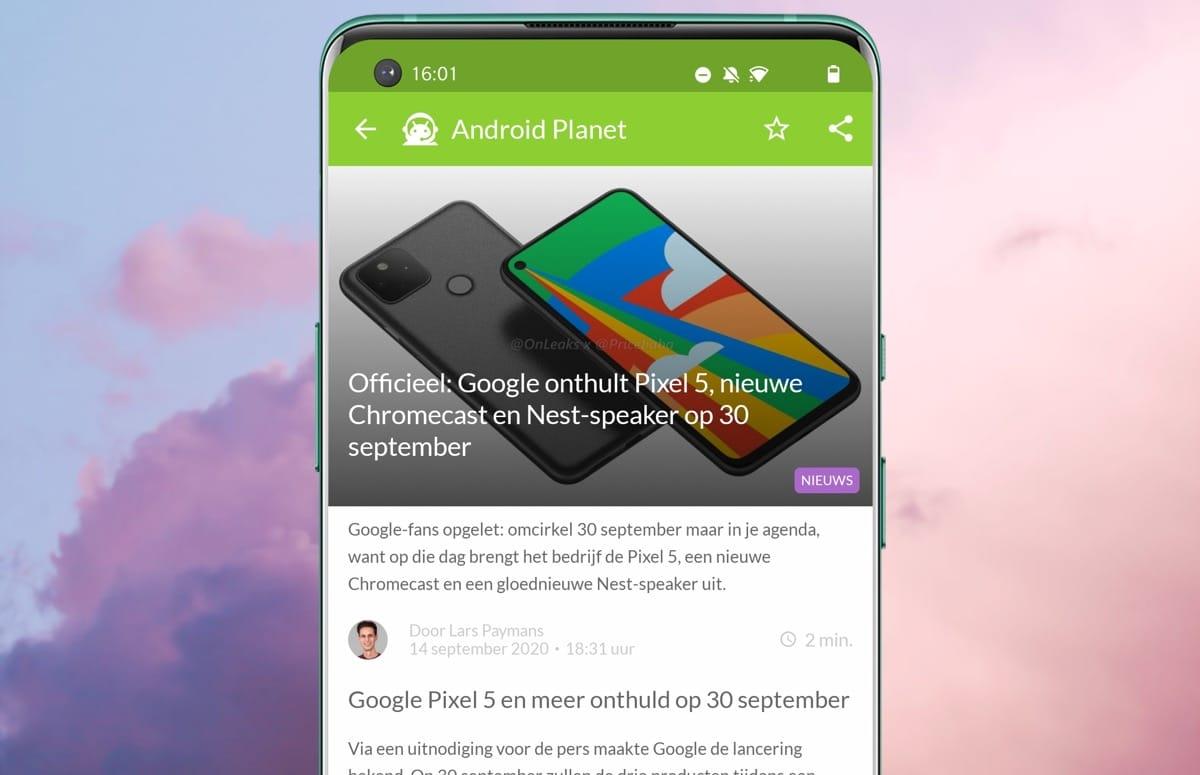 Android-nieuws #38: Google-event, Sony Xperia 5 II en Moto G9 Plus