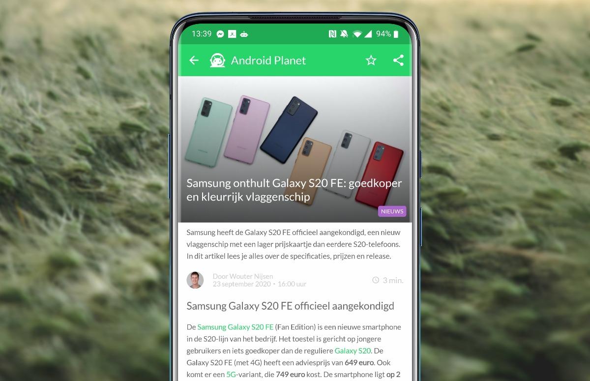 Android-nieuws #39: Nieuwe Samsung Galaxy S20, OnePlus 8T en coronabesmettingen in Google Maps