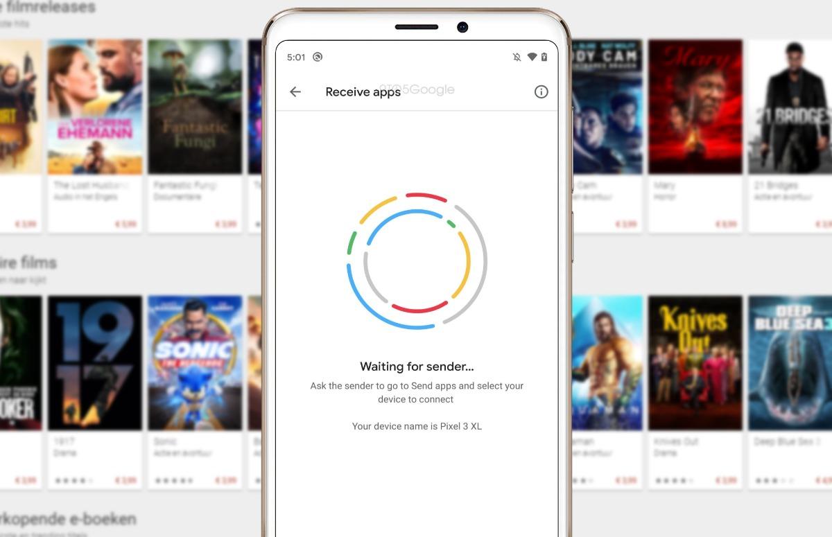 'Apps delen met vrienden via Google Play Store binnenkort mogelijk'