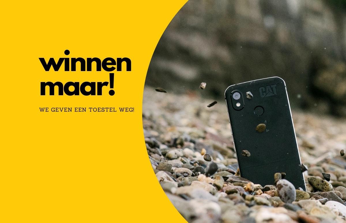 Winnaar Cat-smartphone bekend, check snel of jij gewonnen hebt (ADV)