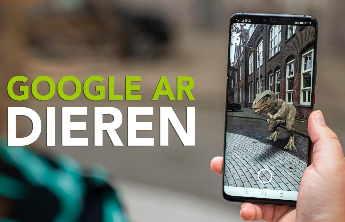 Video: zo gebruik je Google AR-dieren op je Android-smartphone