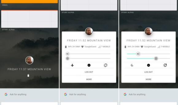 Google Fuchsia screenshots