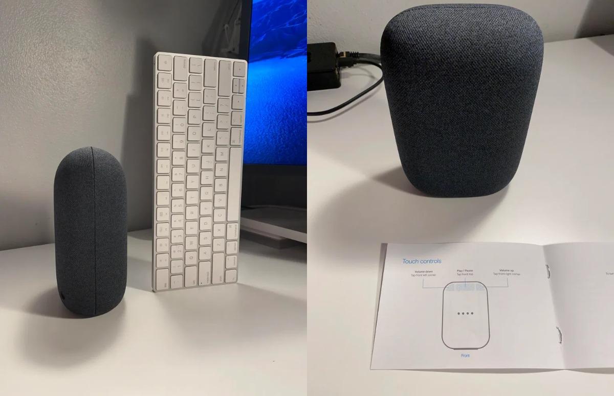 'Dit is de verpakking van Nest Audio, de opvolger van Google Home'