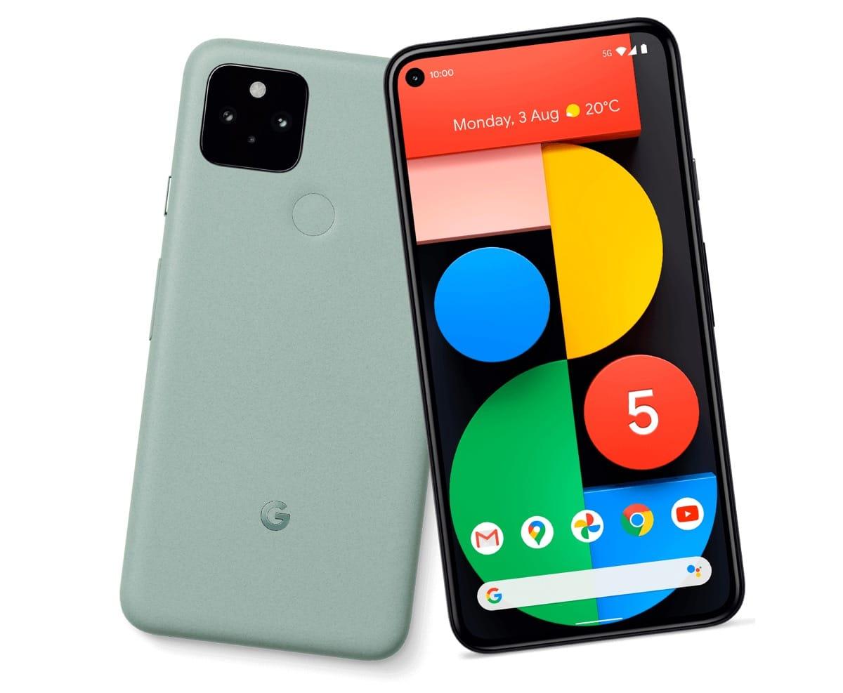 'Google Pixel 5 heeft luidspreker onder het scherm'