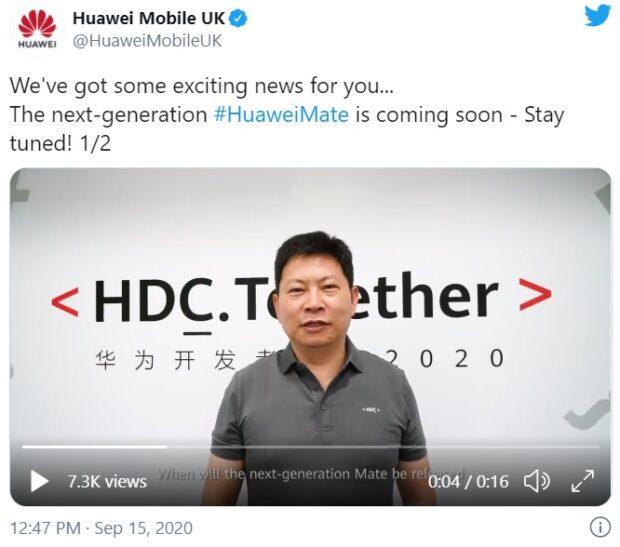 Huawei Mate 40-teaser