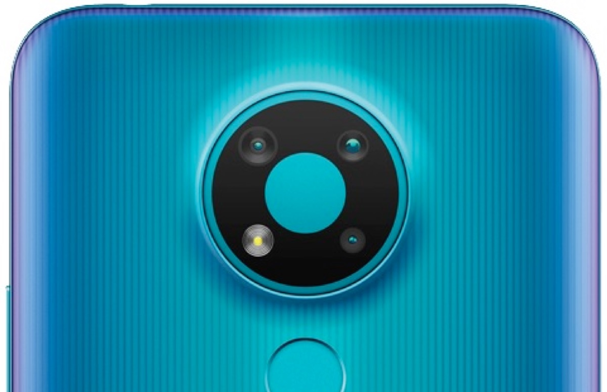 'Render toont betaalbare Nokia 3.4 met drievoudige camera'