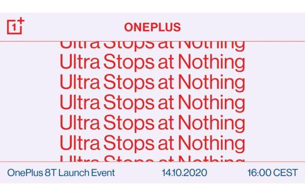 oneplus 8t geruchten aankondiging