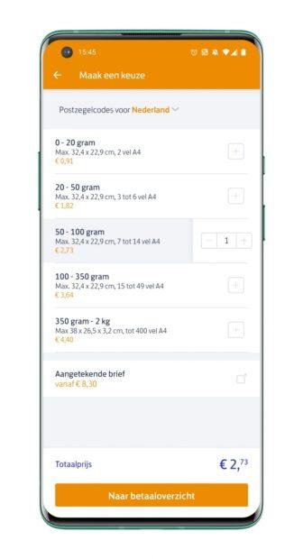 PostNL-app