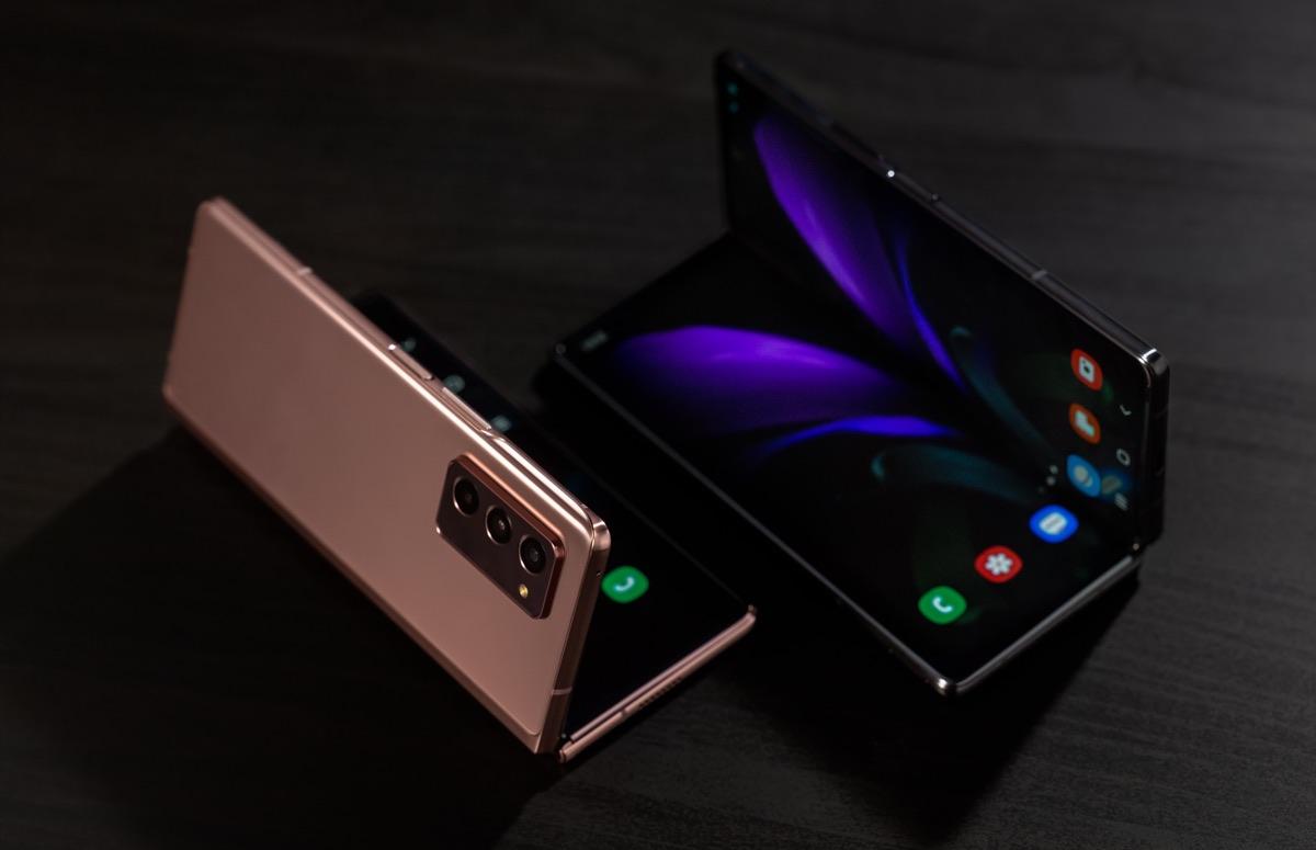 Gerucht: Samsung brengt in 2021 vijf opvouwbare smartphones uit
