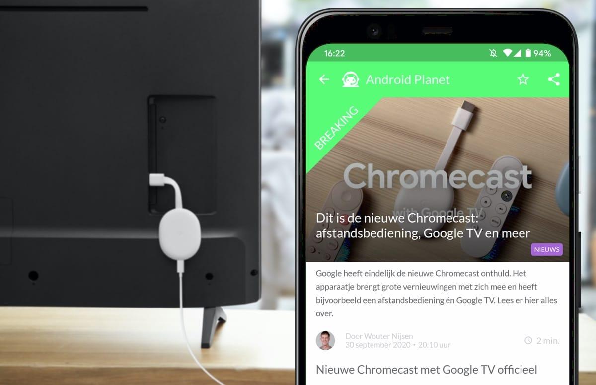 Android-nieuws #40: Chromecast met Google TV, Pixel 5 en meer