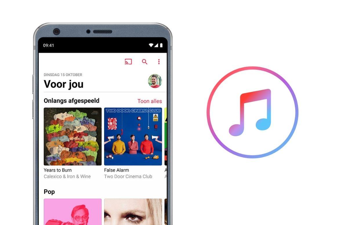 Apple Music-update voor Android introduceert 'extra' functie