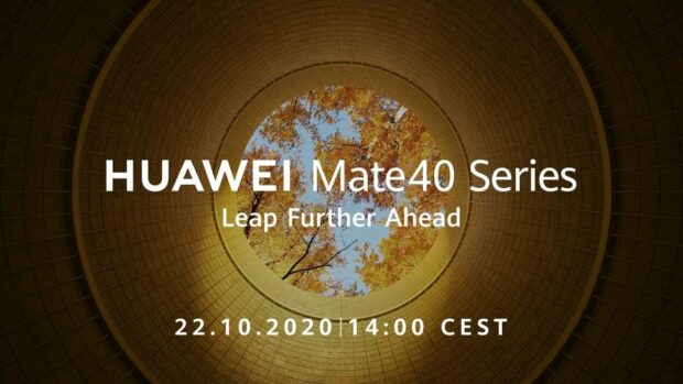 Huawei Mate 40 aankondiging