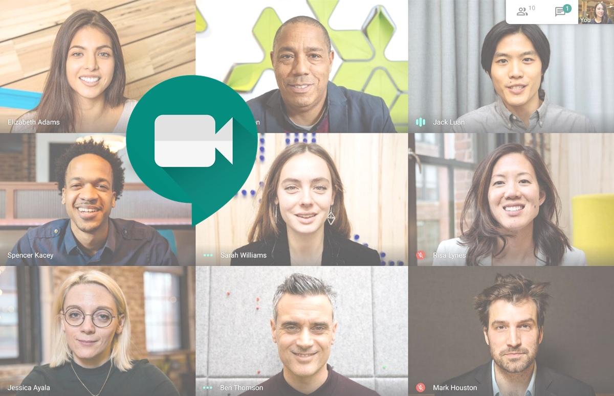 Nieuwe interface Google Meet-app rolt nu uit