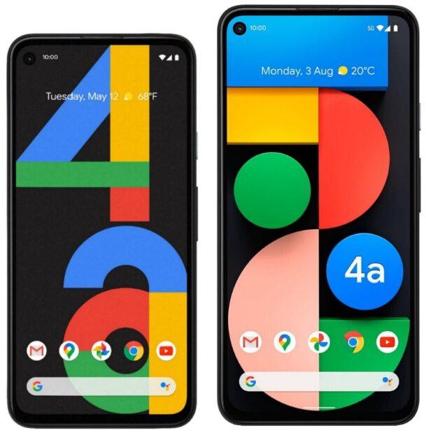 Google Pixel 4a vs Pixel 4a 5G