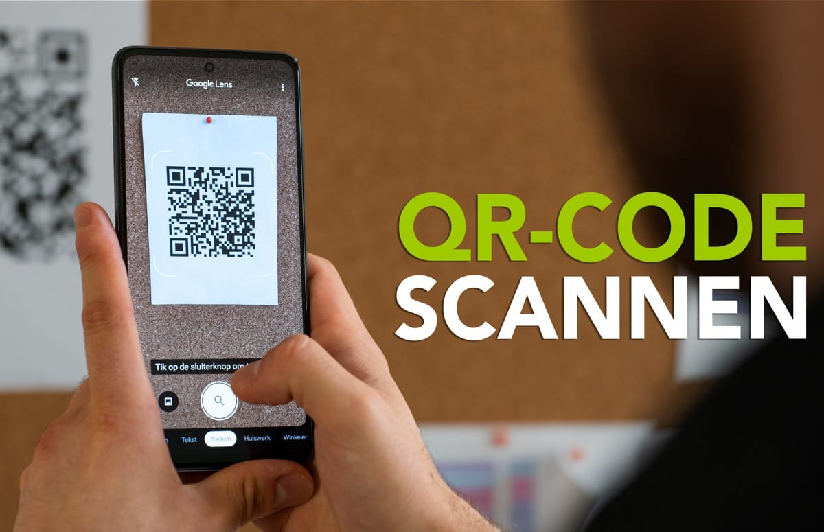 Video van de week: QR-codes scannen met je Android-smartphone