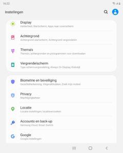 Samsung offline zoeken