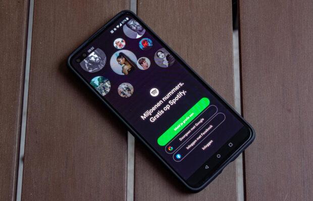 Spotify google log in