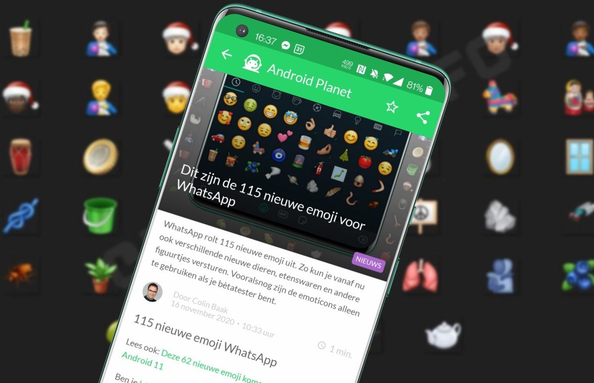 Android-nieuws #47: Nieuwe emoji voor WhatsApp, Google Pay in Nederland en meer