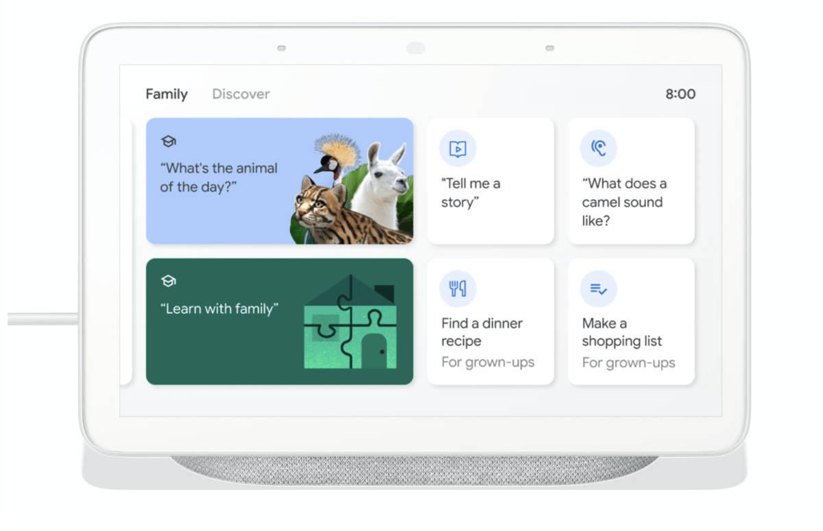 Google Assistent krijgt nieuwe functies voor families