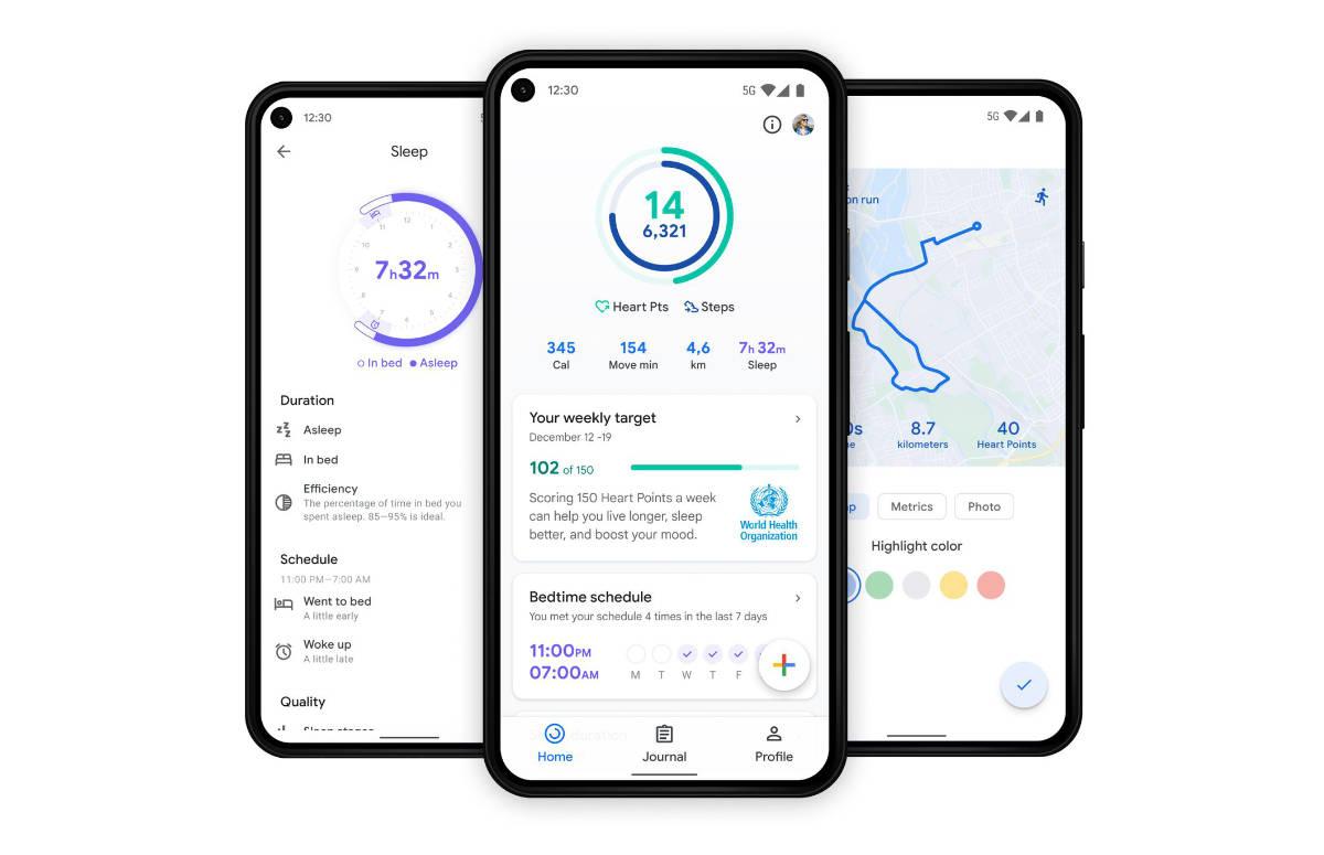 Update Google Fit brengt meer informatie naar thuisscherm