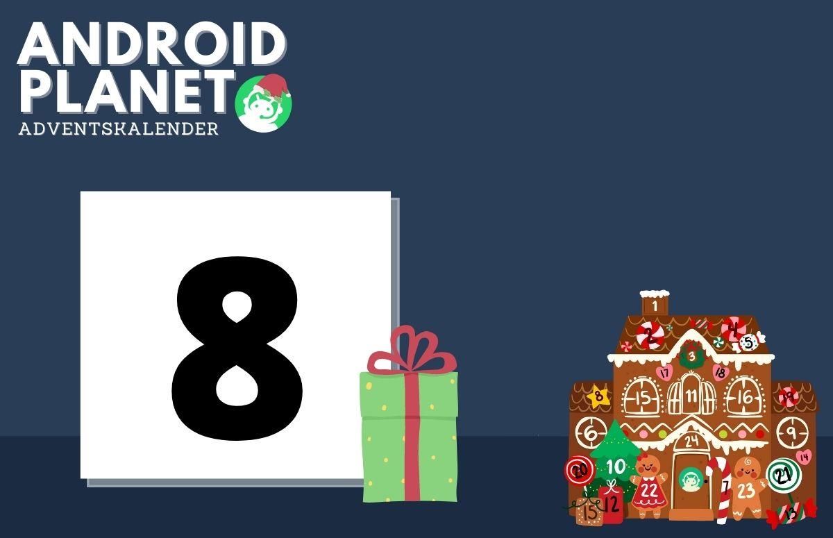 Android Planet-adventskalender (8 december): Gigaset smarthome-pakket én smartphone