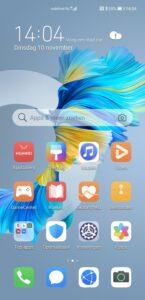Huawei Mate 40 Pro - interface