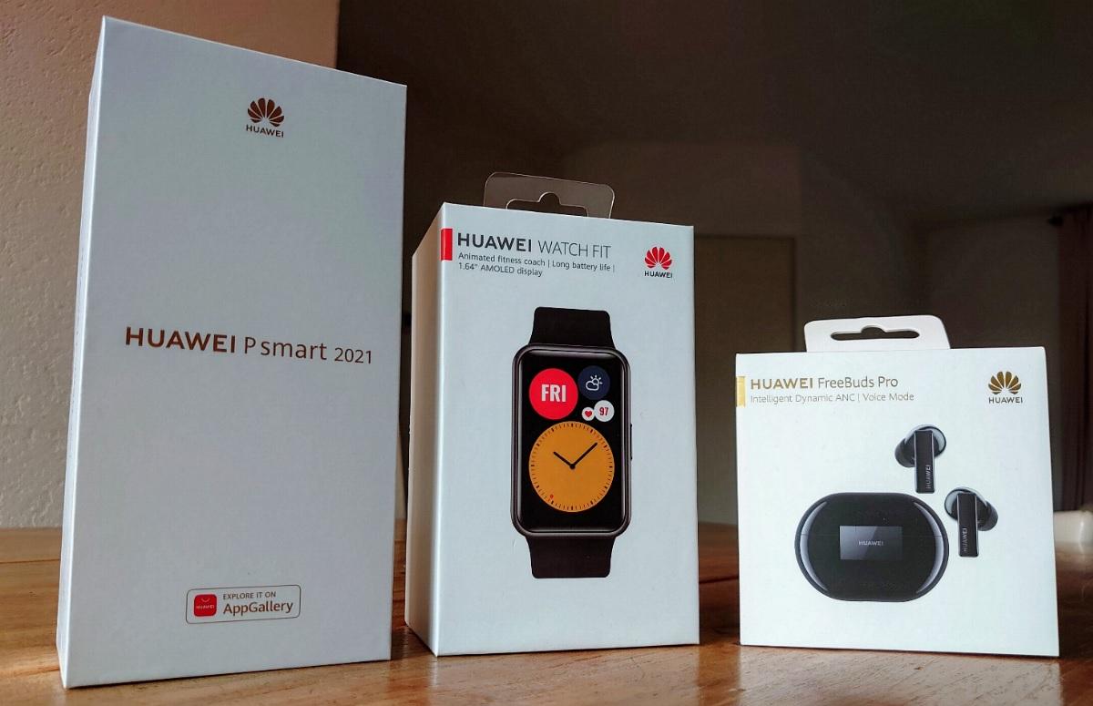 Ervaring van onze lezers: De Huawei P Smart, Watch Fit en Freebuds Pro werken goed samen (ADV)