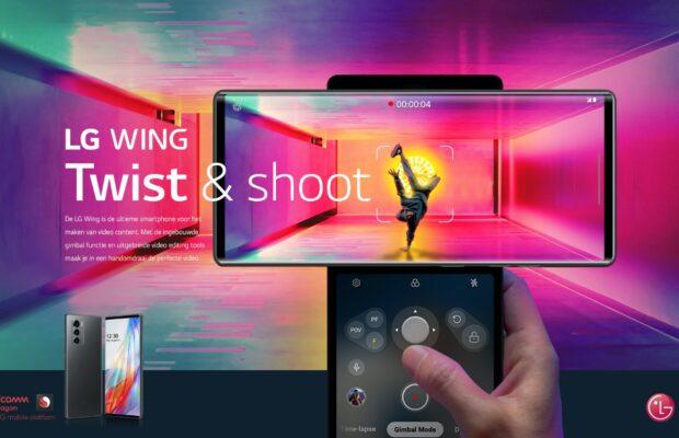 LG Wing Release Nederland