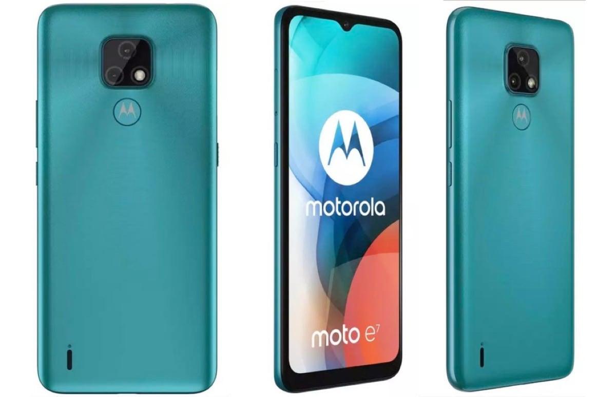 'Renders en specificaties Motorola Moto E7 verschijnen online'