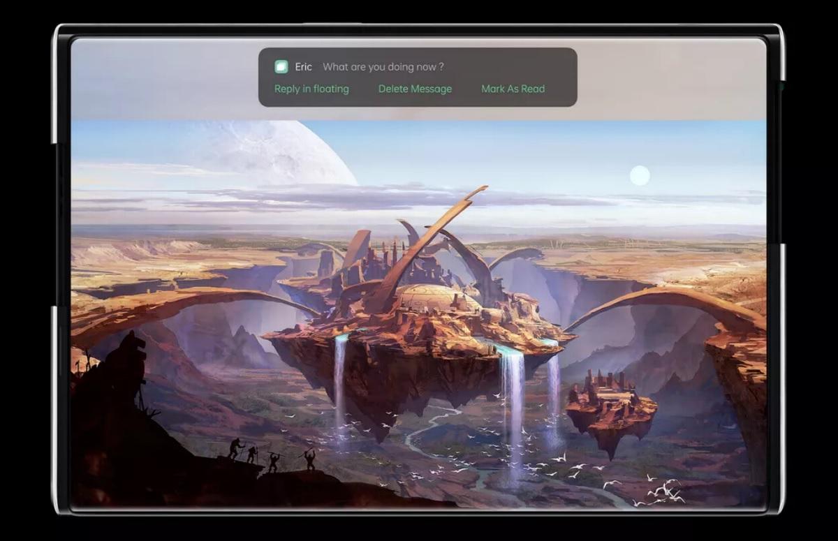 Oppo X 2021 is opvallende smartphone met een uitrolbaar scherm