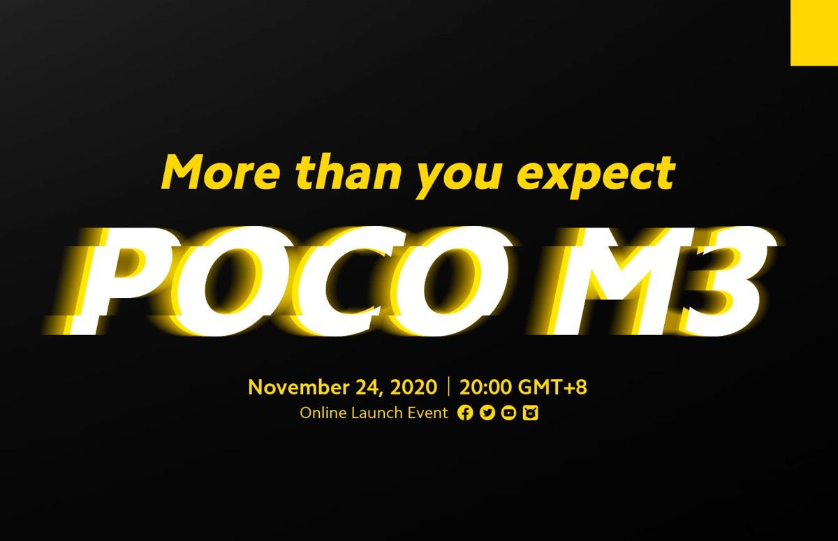 Poco M3 verschijnt volgende week: dit weten we al over de smartphone
