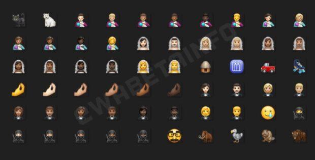 WhatsApp emoji november 2020