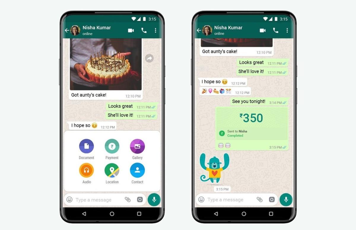 WhatsApp voegt betaaloptie toe aan app, maar nog niet voor Nederlanders
